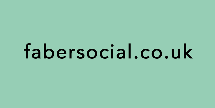 Faber social website launch
