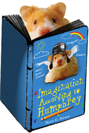 Humphrey and his latest book, Imagination According to Humphrey